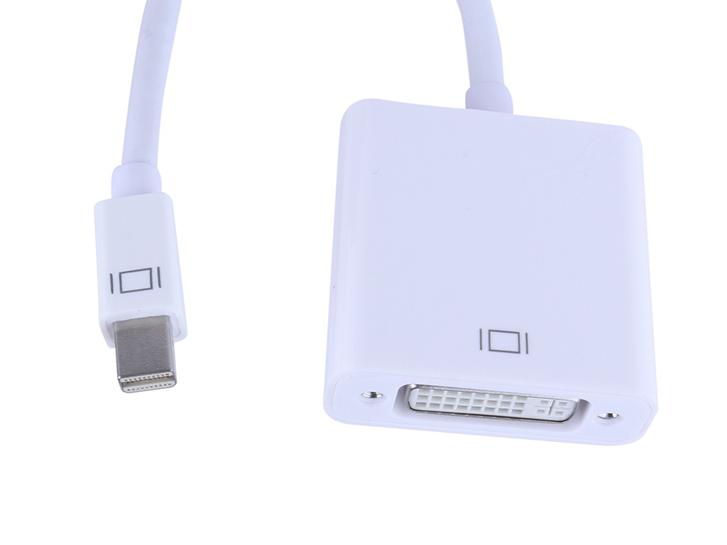 Аксессуар iNeez Mini Display Port to DVI White 110037