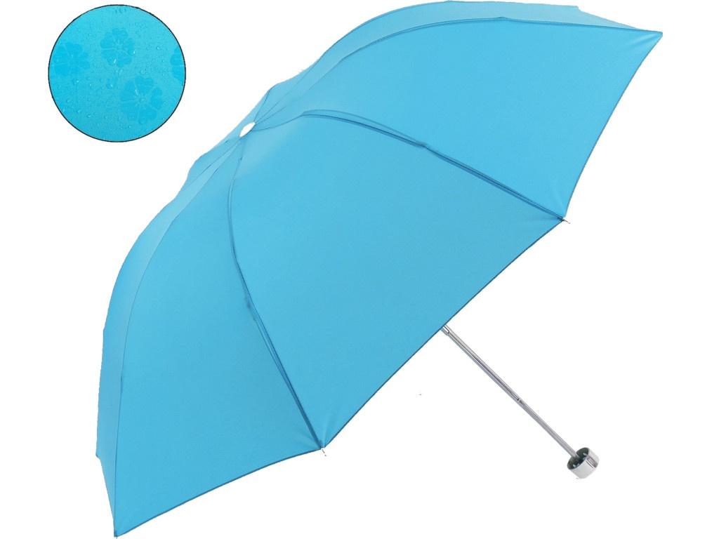 Зонт СИМА-ЛЕНД Цветочки Light Blue 653124