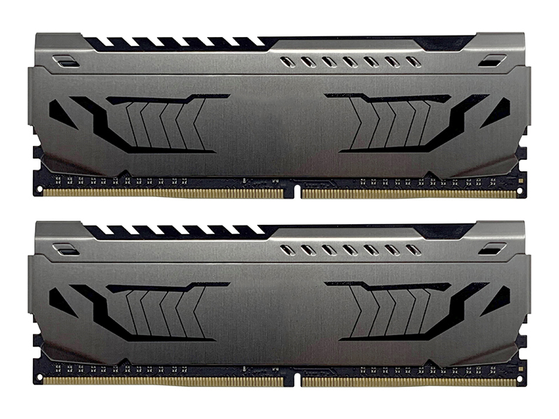 Модуль памяти Patriot Memory Viper Steel DDR4 DIMM 3733MHz PC4-29800 CL17 - 16Gb KIT (2x8Gb) PVS416G373C7K