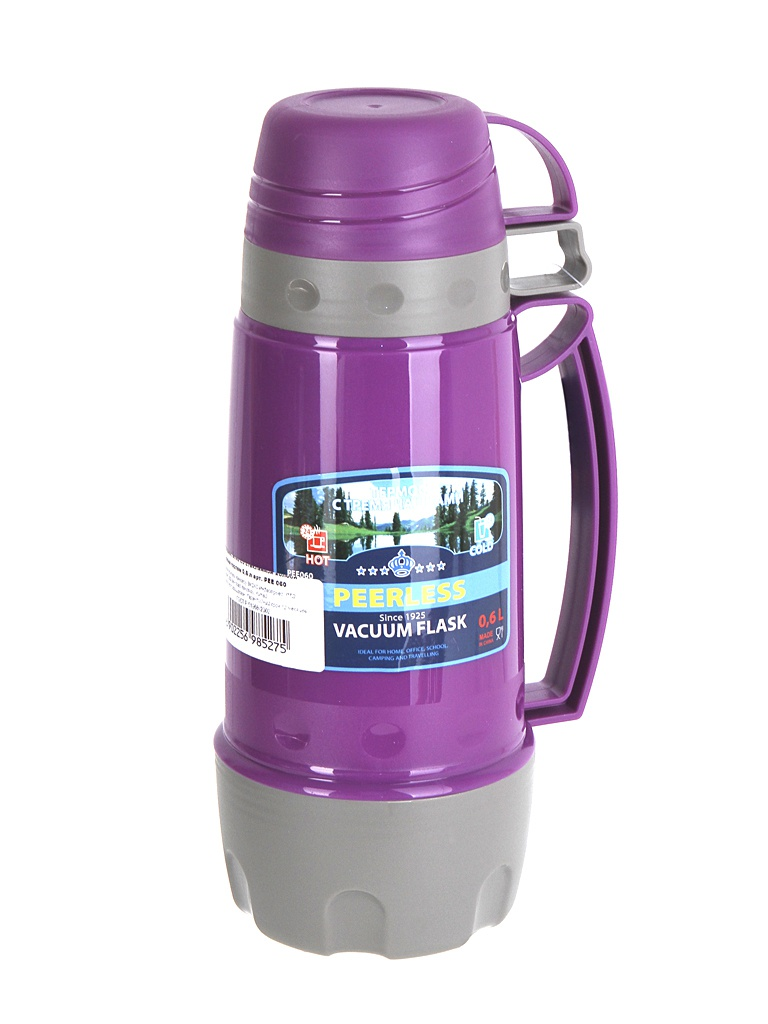 Термос Peerless PEE 060 600ml Dark Lilac