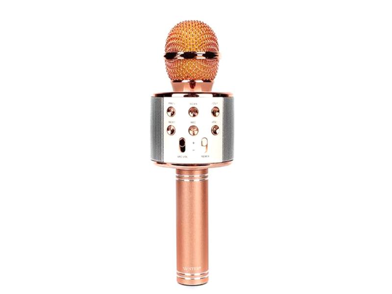 Караоке Handheld KTV WS-858 Rose Gold