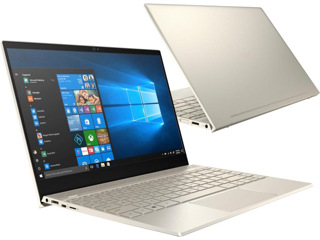 Ноутбук HP Envy 13-ah1010ur 5CU88EA (Intel Core i7-8565U 1.8GHz/16384Mb/256Gb SSD/No ODD/nVidia GeForce MX150 2048Mb/Wi-Fi/Bluetooth/Cam/13.3/1920x1080/Windows 10 64-bit) цены онлайн
