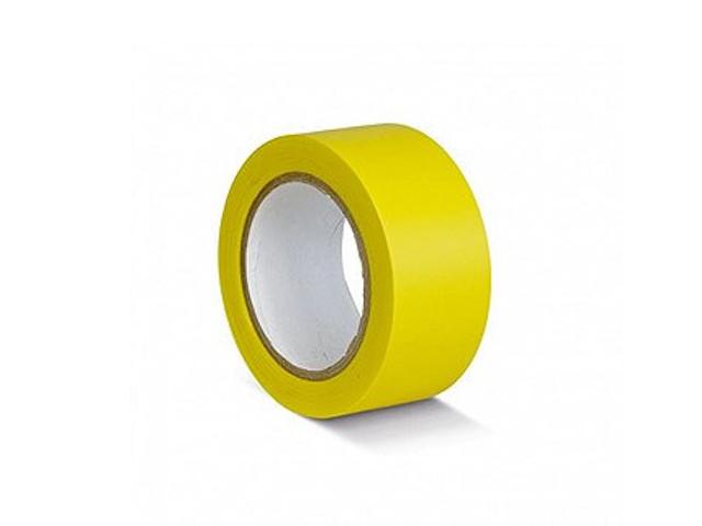 Лента ПВХ Мельхозе 50mm x 33m Yellow КМSG05033