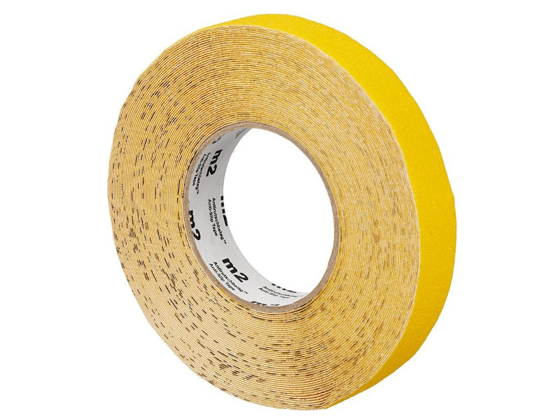 Лента универсальная, антискользящая Мельхозе 25mm x 18.3m Yellow M1GR025183