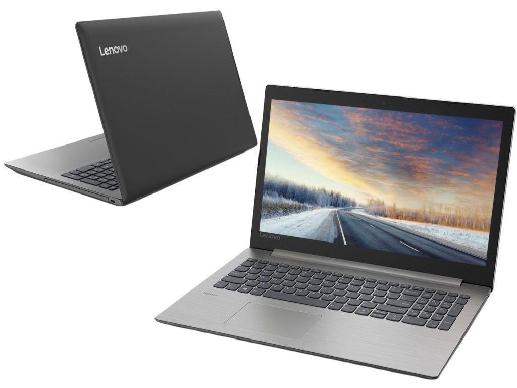 Ноутбук Lenovo IdeaPad 330-15AST Black 81D600KFRU (AMD A4-9125 2.3 GHz/4096Mb/128Gb SSD/AMD Radeon 530 2048Mb/Wi-Fi/Bluetooth/Cam/15.6/1920x1080/DOS)