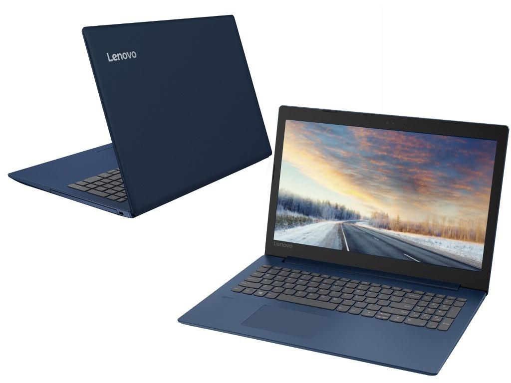 Ноутбук Lenovo IdeaPad 330-15AST Midnight Blue 81D600KCRU (AMD A6-9225 2.6 GHz/4096Mb/128Gb SSD/AMD Radeon R4/Wi-Fi/Bluetooth/Cam/15.6/1920x1080/DOS)