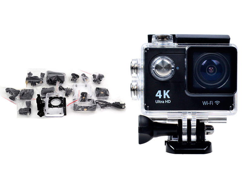 Экшн-камера Zodikam Z160KW Black цена