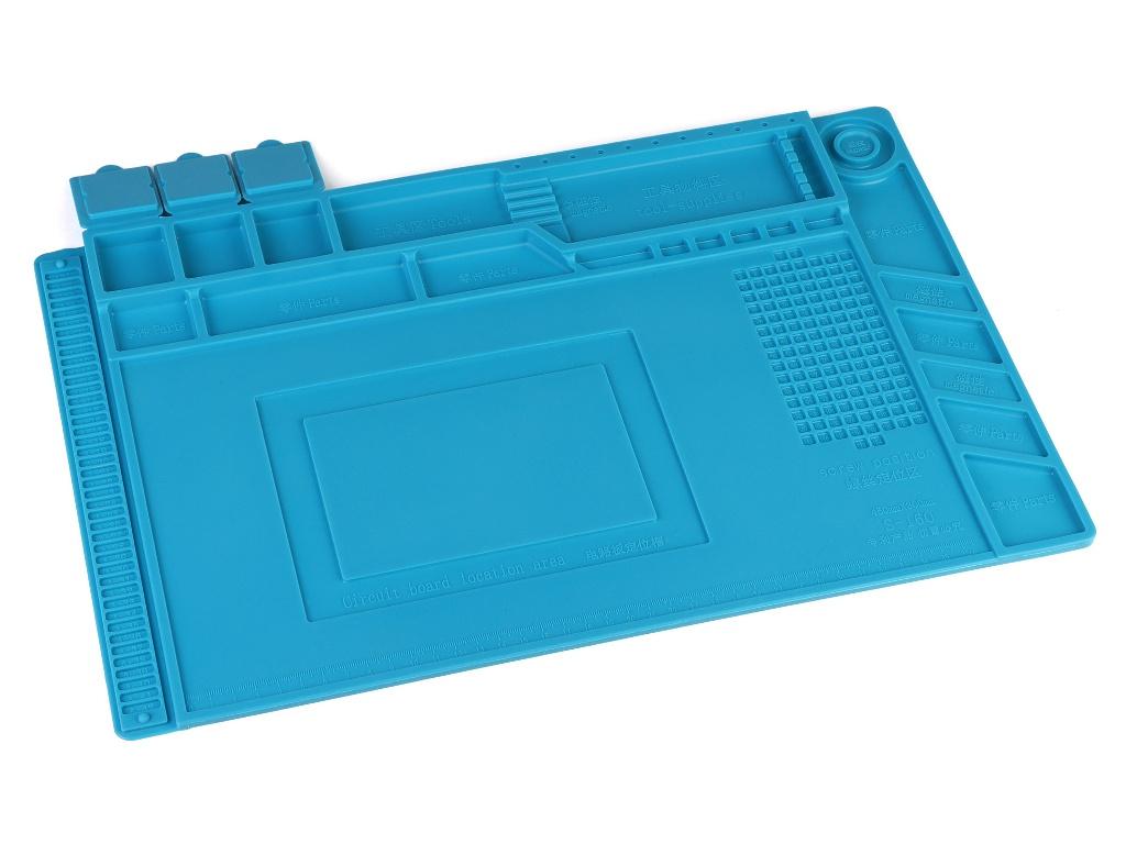 Коврик силиконовый термостойкий iQFuture 45x30cm Blue IQ-Smat-45