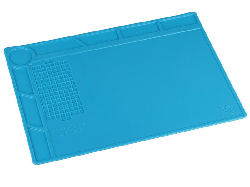Коврик силиконовый термостойкий iQFuture 35x25cm Blue IQ-Smat-35