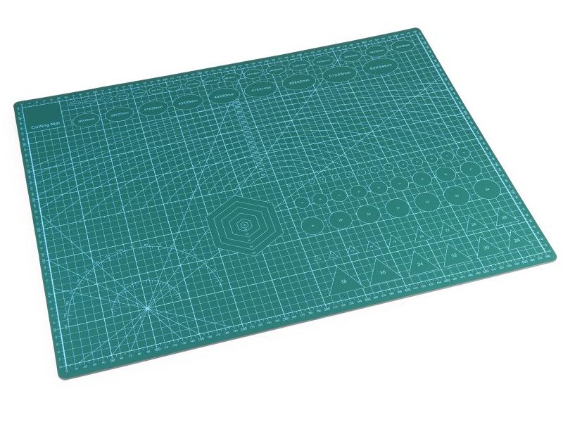 Коврик для макетирования и резки iQFuture 45x50cm Green IQ-Cmat-A2