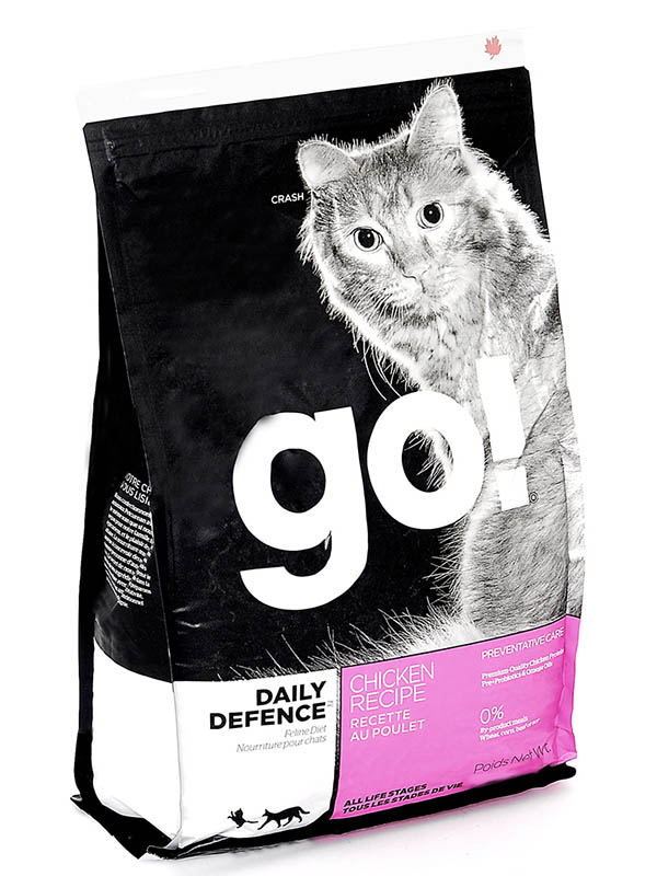 Корм GO! Курица/Фрукты/Овощи 1.4kg для котят и кошек 84810
