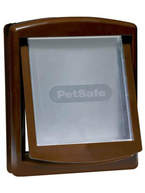 Дверца для собак и кошек PetSafe Original 2 Way Medium Brown 755EF