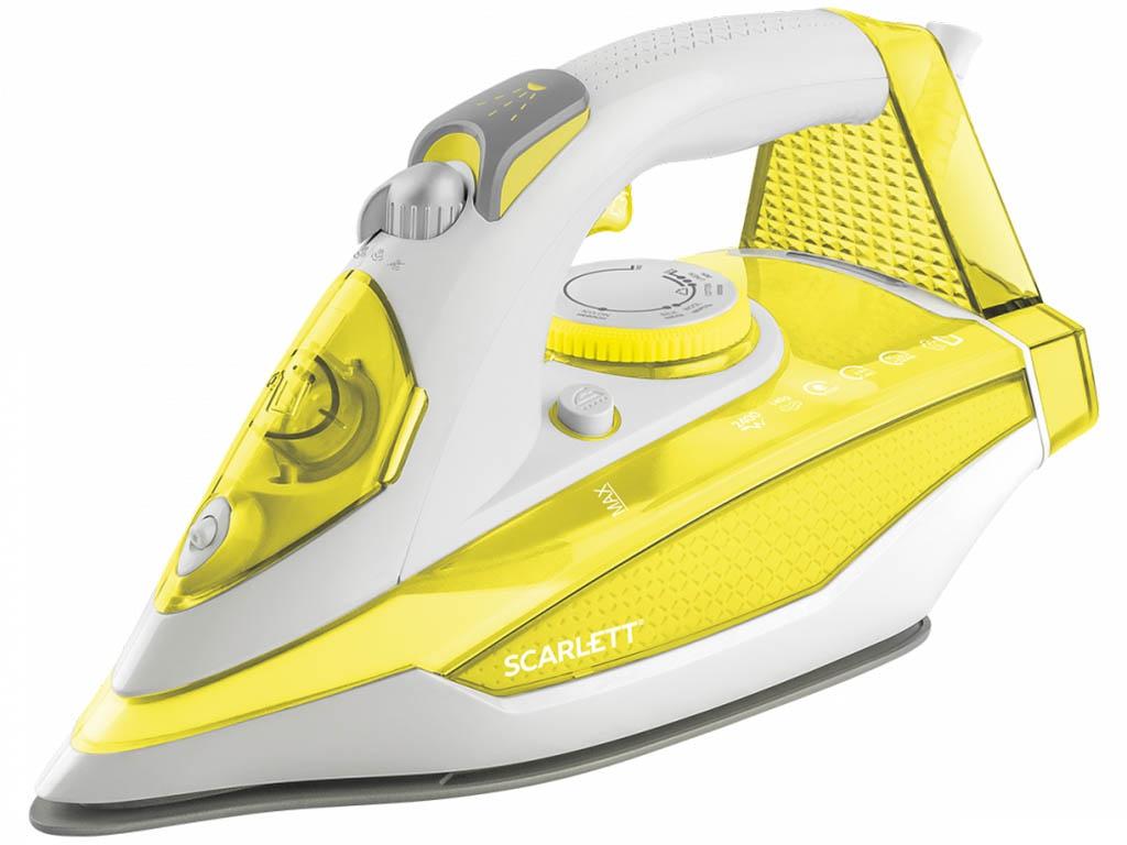 Утюг Scarlett SC-SI30K42 Yellow scarlett sc si30k28 утюг