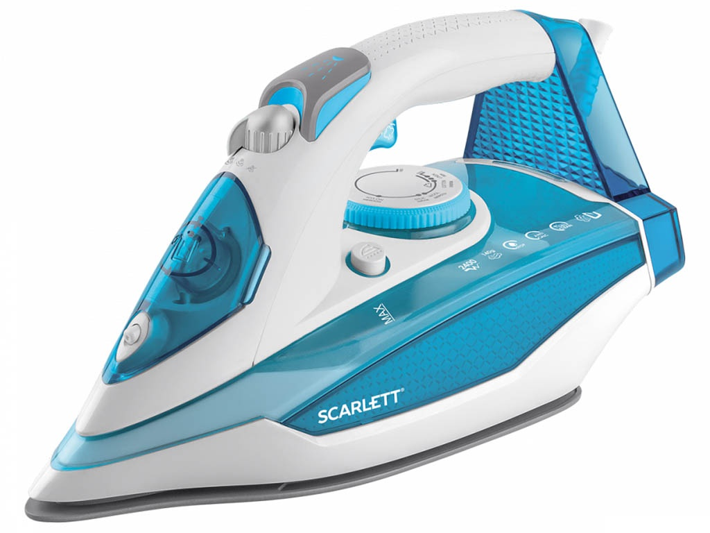 Утюг Scarlett SC-SI30K41 Blue scarlett sc si30k28 утюг