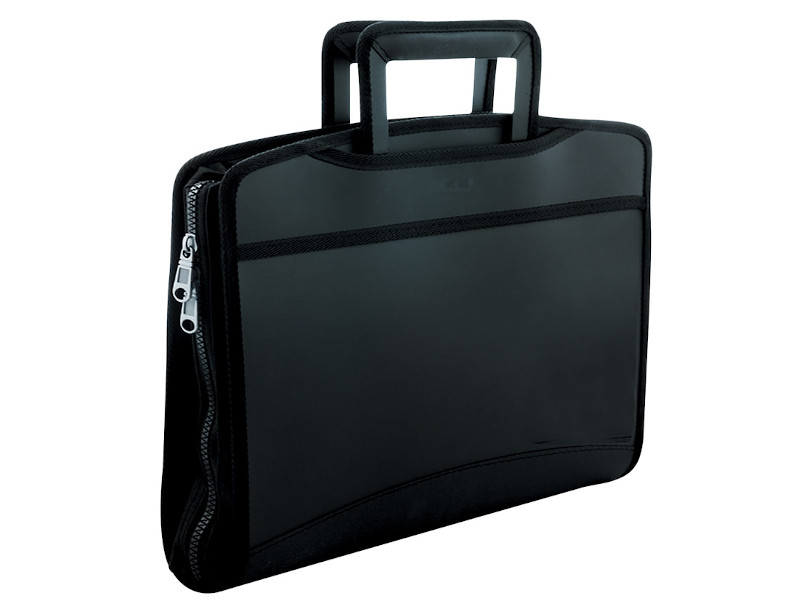 Папка Berlingo Silk Touch A4 380x280x45mm Black ADb_04031