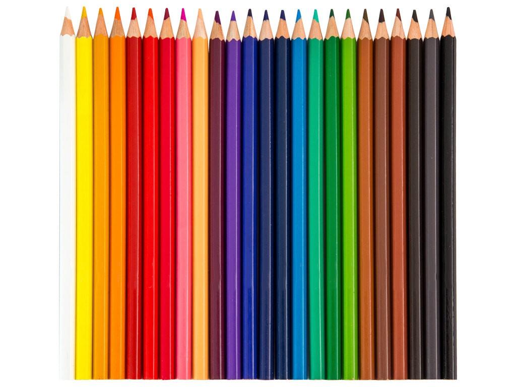 Карандаши цветные Berlingo Замки 24 цвета CP00124