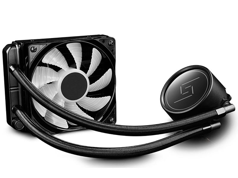 Водяное охлаждение DeepCool Gammaxx L120 RGB ( Intel LGA1150/1155/1151/1156/LGA2066/LGA1356/1366/LGA2011/2011-3 AMD AM2/AM2+/AM3/AM3+/FM1/AM4/FM2/FM2+)