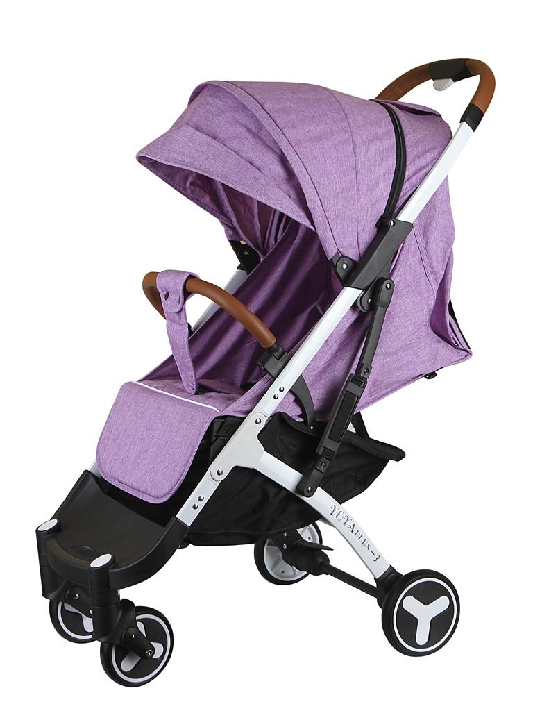 лучшая цена Коляска Yoya Plus 3 Purple