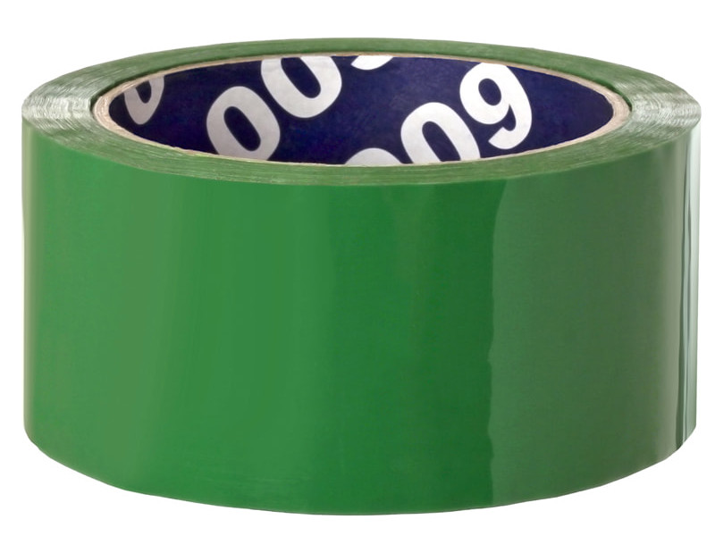Клейкая лента Unibob 48mm x 66m Green 30488
