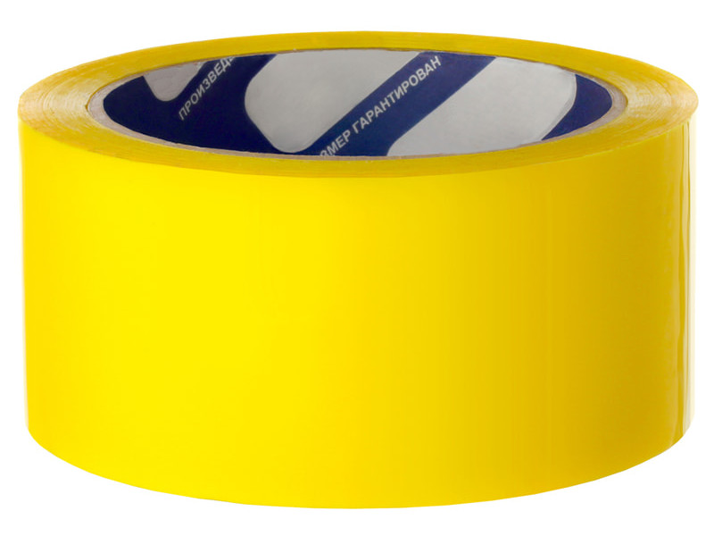 Клейкая лента Unibob 48mm x 66m Yellow 30269