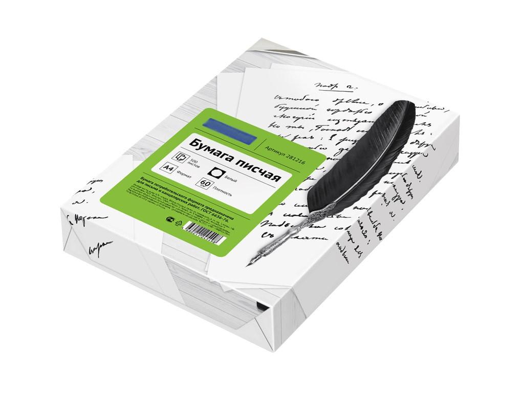 Бумага писчая ArtSpace OfficeSpace А4 60g/m2 500 листов OS4-500-60