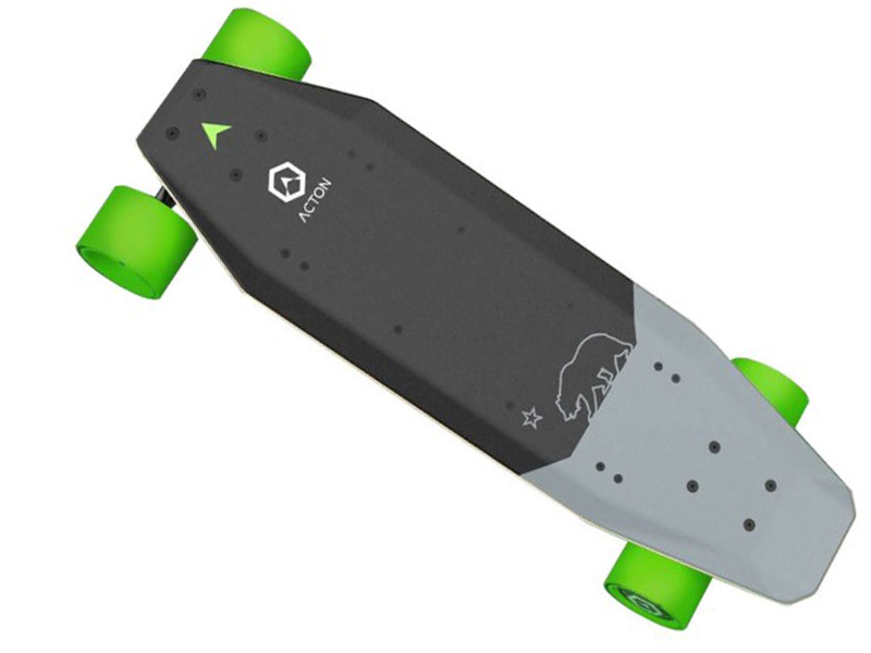 Скейт Xiaomi Acton Smart Electric Skateboard X1