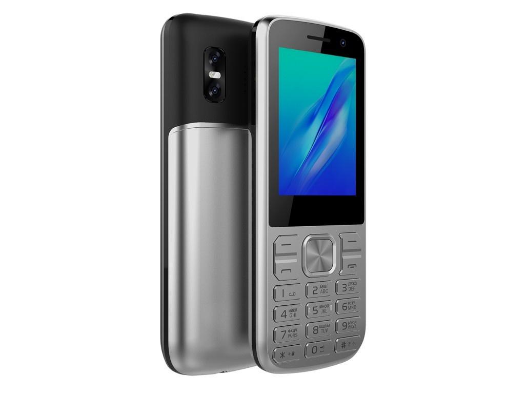 Сотовый телефон Olmio M22 Silver сотовый