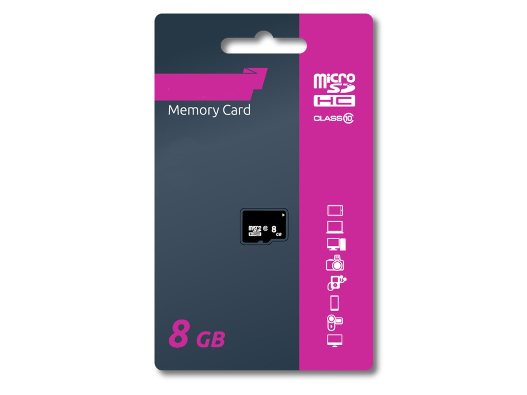 Карта памяти 8Gb - Olmio Micro Secure Digital HC Class 10 39120