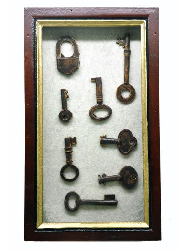 Настенная ключница Crystocraft 25х14.5х7.5cm 101194 ключница декоративная настенная magic home лиловые букеты 19 х 6 х 27 см