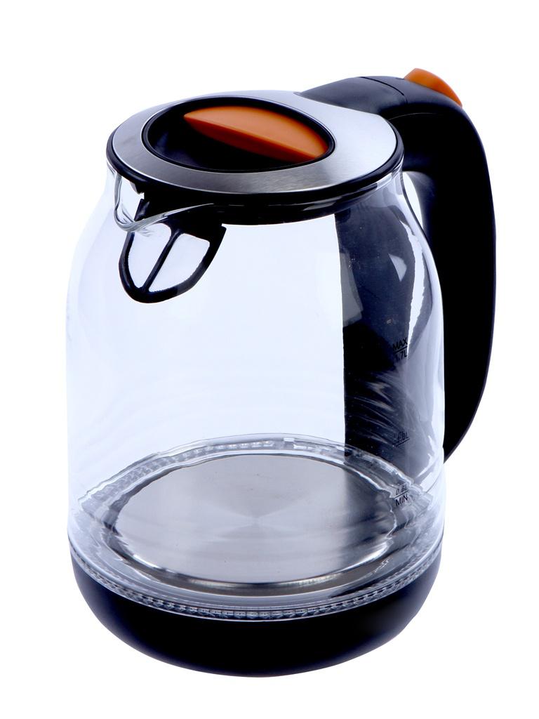 Чайник Kitfort KT-654-3 Black-Orange