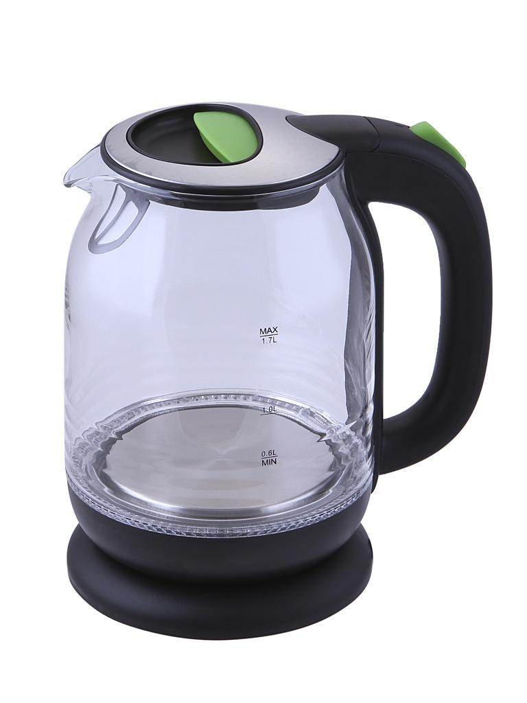 Чайник Kitfort KT-654-2 Black-Green