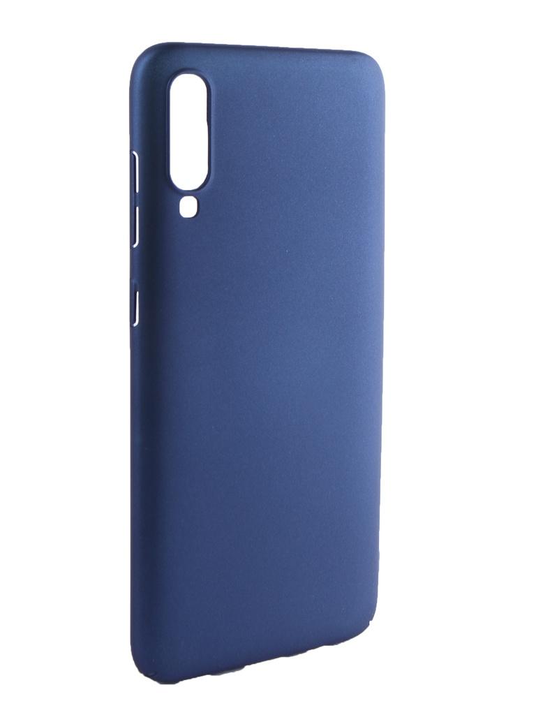 Аксессуар Чехол Neypo для Samsung Galaxy A70 2019 Soft Touch Dark Blue ST11987 аксессуар чехол для samsung galaxy j7 neo neypo soft touch black st3772