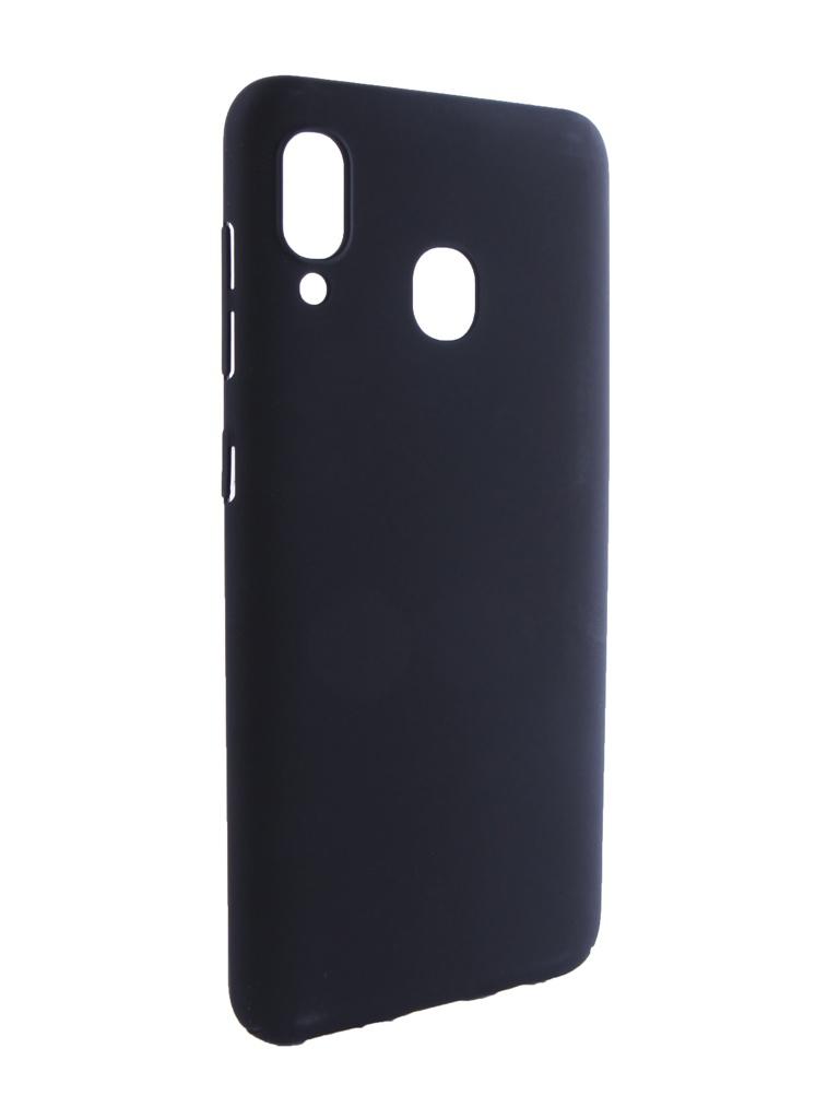 Аксессуар Чехол Neypo для Samsung Galaxy A30 2019 Soft Touch Black ST11852 аксессуар чехол для samsung galaxy j7 neo neypo soft touch black st3772