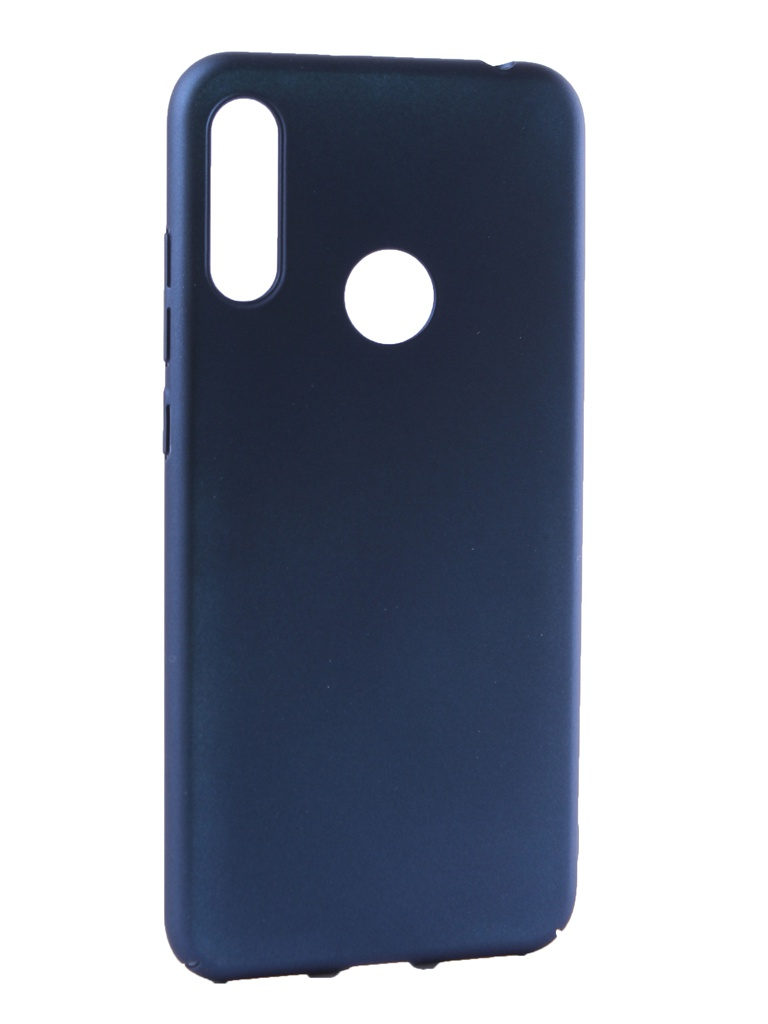 Чехол Neypo для Huawei Honor 8A Soft Touch Dark Blue ST11991