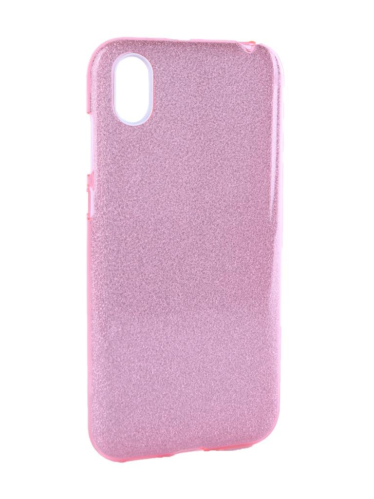 Аксессуар Чехол Neypo для Huawei Honor 8S Brilliant Silicone Pink Crystals NBRL11936 аксессуар чехол для huawei p20 lite neypo brilliant silicone silver crystals nbrl4498
