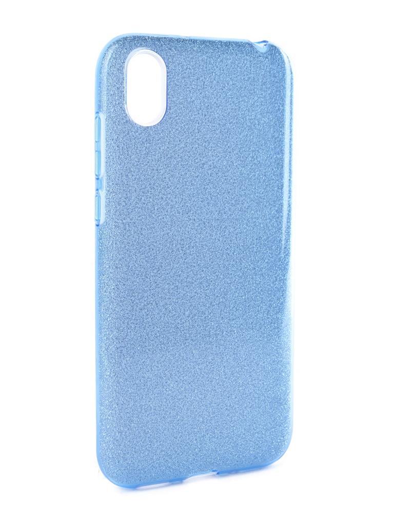 Аксессуар Чехол Neypo для Huawei Honor 8S Brilliant Silicone Light Blue Crystals NBRL11933 аксессуар чехол для huawei p20 lite neypo brilliant silicone silver crystals nbrl4498