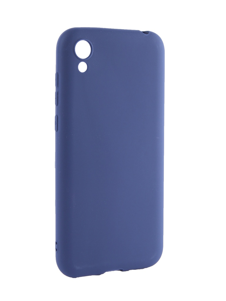 Чехол Neypo для Honor 8S Soft Matte Silicone Dark Blue NST11955