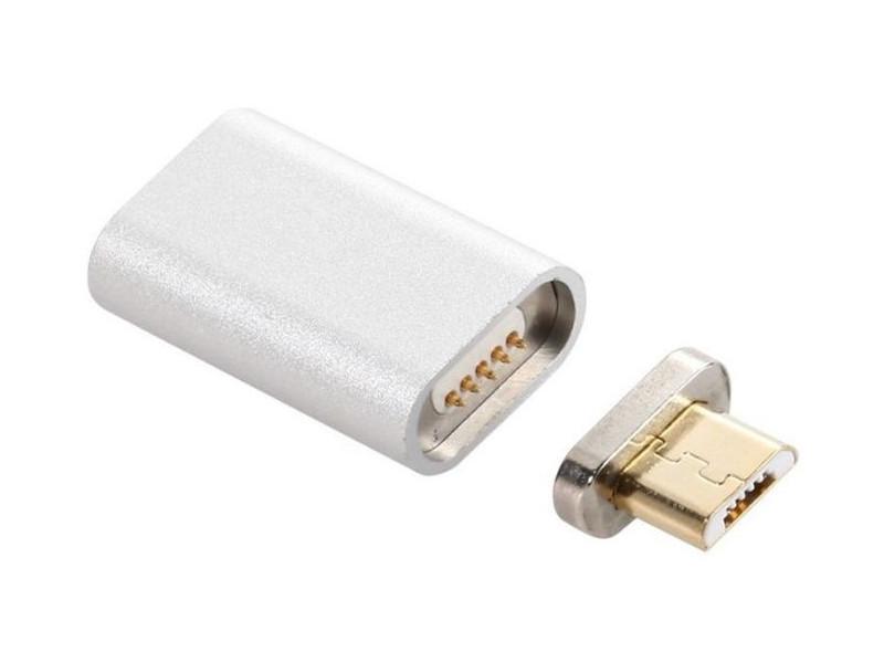 Аксессуар Maverick Magnet MicroUSB Silver ПSELAEP1279