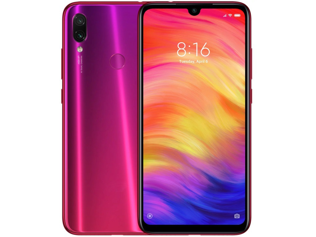 Сотовый телефон Xiaomi Redmi Note 7 4Gb RAM 128Gb Red