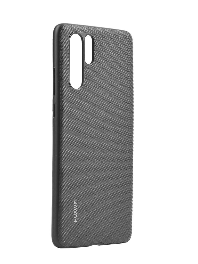 Чехол для Huawei P30 Pro PU Case Black 51992979