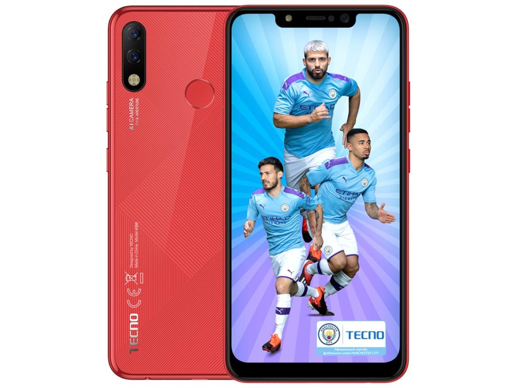 Сотовый телефон TECNO Spark 3 Pro Bordeaux Red