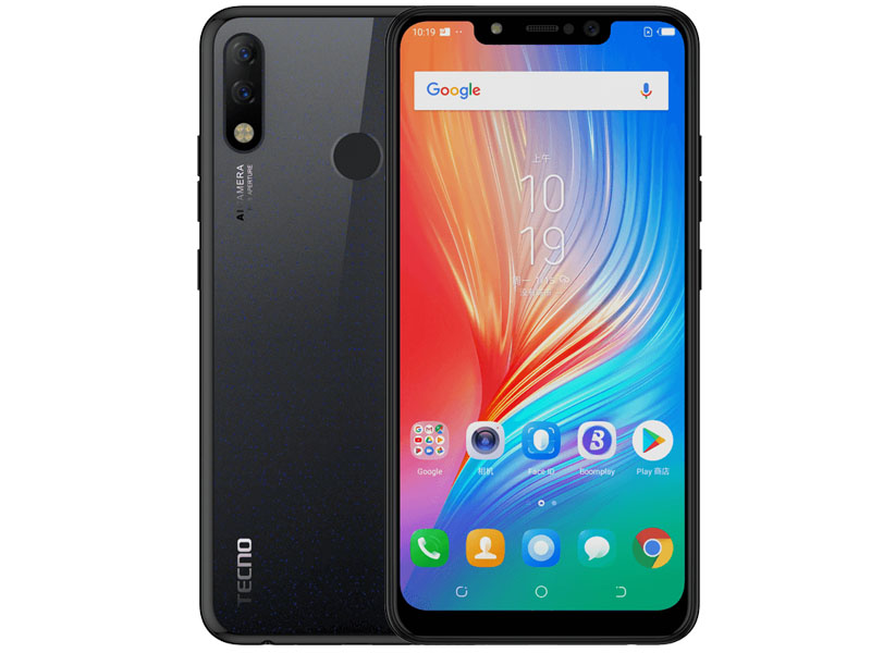 Сотовый телефон TECNO Spark 3 Pro Midnight Black