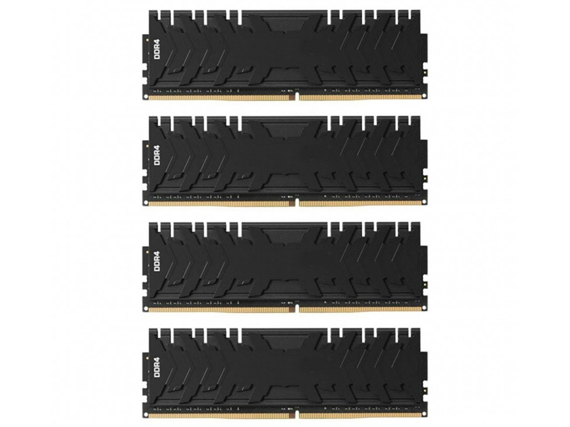 Модуль памяти Kingston HyperX Predator DDR4 DIMM 2400MHz PC-19200 CL12 - 32Gb KIT (4x8Gb) HX424C12PB3K4/32