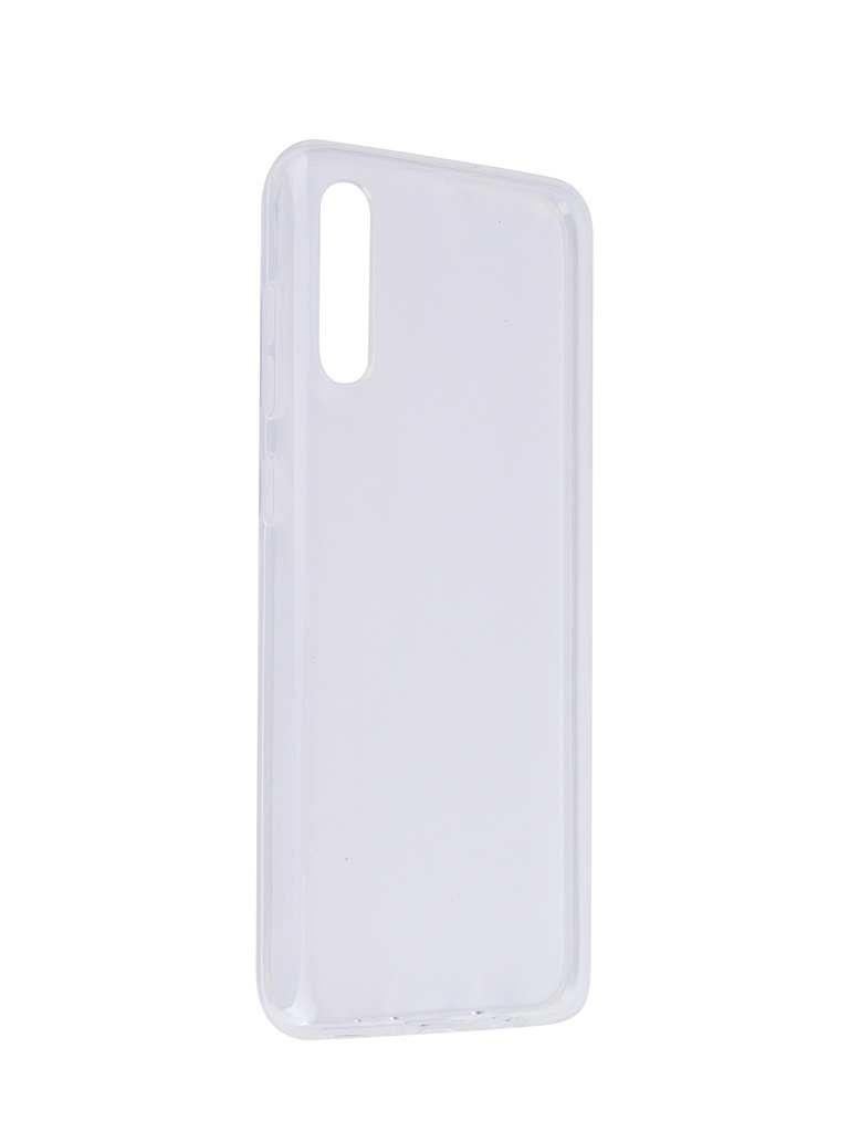 Аксессуар Чехол SkinBox для Samsung Galaxy A70 Slim Silicone 4People Transparent T-S-SGA70-005