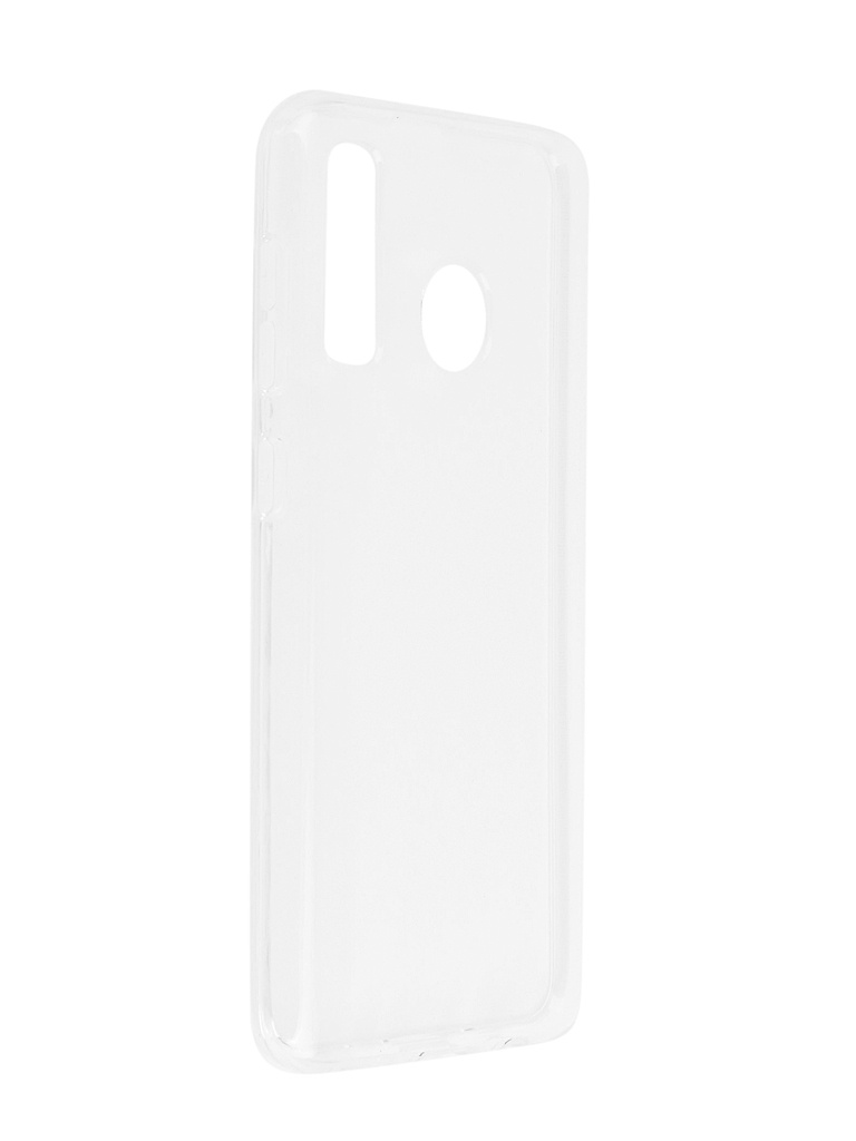 Аксессуар Чехол SkinBox для Samsung Galaxy A20 / A30 Slim Silicone 4People Transparent T-S-SGA20-005 цена и фото