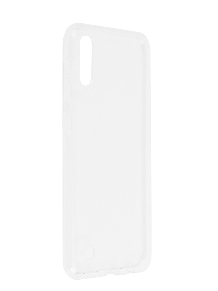 Аксессуар Чехол SkinBox для Samsung Galaxy A10 Slim Silicone 4People Transparent T-S-SGA10-005 цена и фото