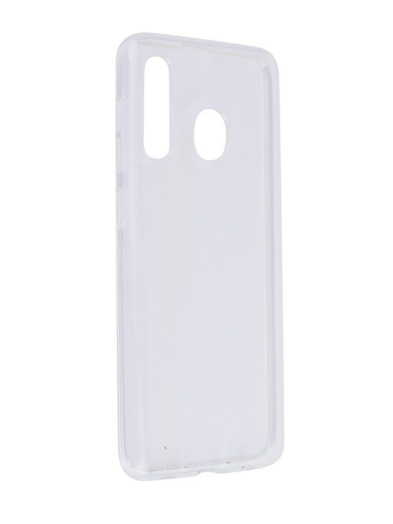 Аксессуар Чехол SkinBox для Samsung Galaxy A50 Slim Silicone 4People Transparent T-S-SGA50-005