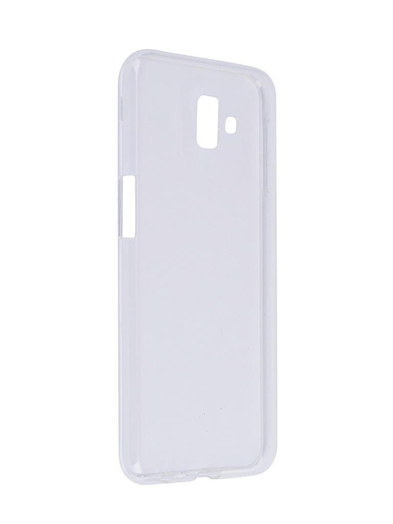 Чехол SkinBox для Samsung Galaxy J6 Plus 2018 Slim Silicone Transparent T-S-SGJ6P-006