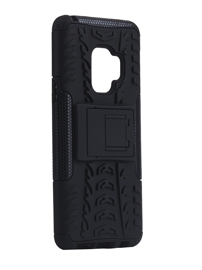 Аксессуар Чехол SkinBox для Samsung Galaxy S9 Defender Case Black T-S-SGS9-06