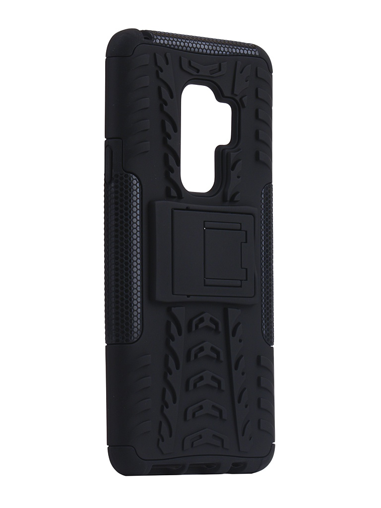 Аксессуар Чехол SkinBox для Samsung Galaxy S9 Plus Defender Case Black T-S-SGS9P-06 цена и фото